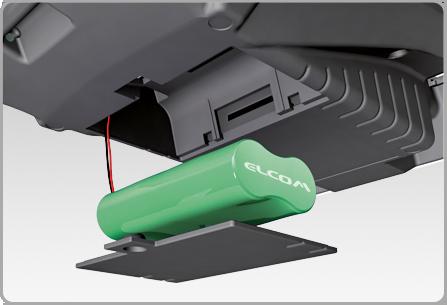 Beépített akkumulátor - Euro-50TE Mini online pénztárgép