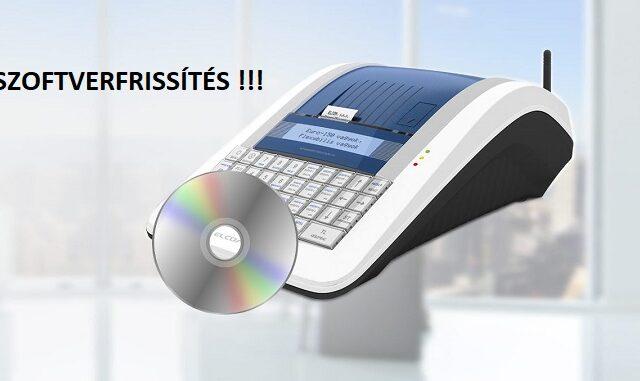euro 150 flexy pénztárgép szoftverfrissítes